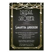 Great Gatsby Bridal Shower  / Art Deco