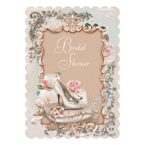 High Heel Shoe Vintage Bridal Shower