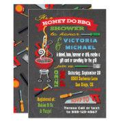 Honey Do Bbq Chalkboard Couples Shower Invitation
