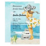 Honeymoon Bridal Shower Invitation