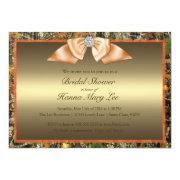 Hunting Camo Bridal Shower Invitations