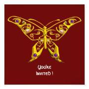 Hyper Butterfly ,red