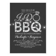 I do BBQ couples shower invitation