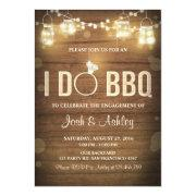 I Do Bbq Engagement Party Couples Shower Rustic