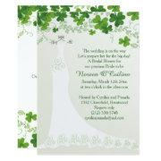 Irish Shamrock, Wedding Gown Bridal Shower
