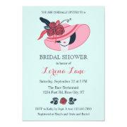 Kentucky Derby Inspired Bridal Shower Invitation