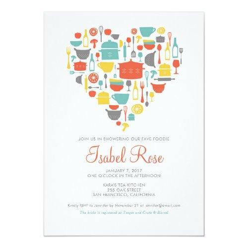 Kitchen Bridal Shower Invitation