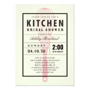 Kitchen Bridal Shower