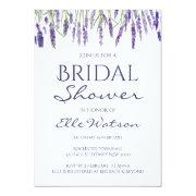 Lavender Bridal Shower Invitation, Wedding