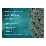 Lavish Peacock Feather Bridal Shower