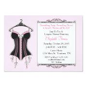 Lingerie shower invitations funbridalshowerinvitations lingerie bridal shower invitation filmwisefo