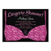 Lingerie Bridal Shower  Pink Glam