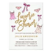 Lingerie Shower // Bachelorette Party