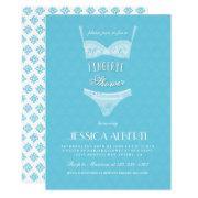 Lingerie Shower Blue Bridal Shower