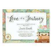 Love Is A Journey Travel Bridal Shower