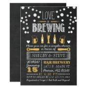 Love Is Brewing Bridal Shower Invitation
