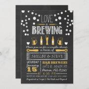 Love Is Brewing Bridal Shower Invitation