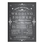 Lovely Chalkboard Couples Wedding Shower