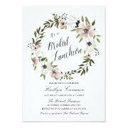 Lovely Floral Wreath- Bridal Luncheon