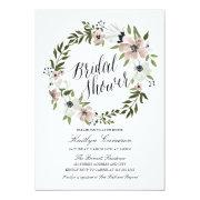 Lovely Floral Wreath- Bridal Shower