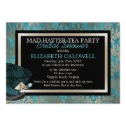 Mad Hatter Alice In Wonderland Bridal Shower