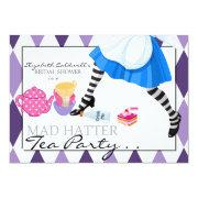 Mad Hatter Bridal Shower Tea Party