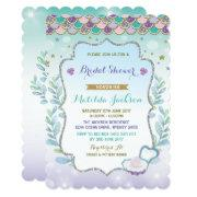 Mermaid Bridal Shower  Beach Ocean Party