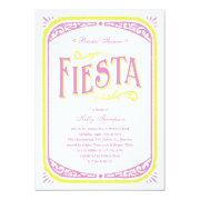 Mexican Bridal Shower Invitations