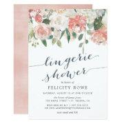 Midsummer Floral | Lingerie Shower