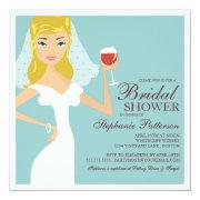 Wine themed bridal shower invitations funbridalshowerinvitations modern bride wine theme bridal shower filmwisefo