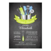 Modern Chalkboard Stock The Kitchen Bridal Shower