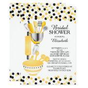 Modern Confetti Kitchen Bridal Shower