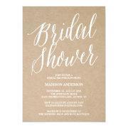 Modern Script | Bridal Shower