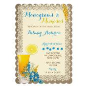 Monograms And Mimosas Bridal Shower