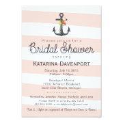 Nautical Anchor Bridal Shower  Pink