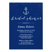 Nautical Anchor Navy Blue Bridal Shower