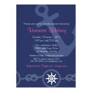 Nautical Bridal Shower , Pink And Navy