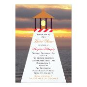 Nautical Bridal Shower  - Lighthouse