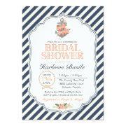 Nautical Floral Anchor Bridal Shower