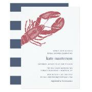 Nautical Lobster Bridal Shower