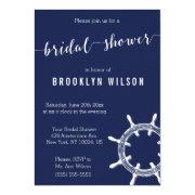 Nautical Navy Blue Bridal Shower