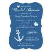 Nautical Navy Blue Bridal Shower