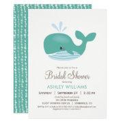Nautical Whale Bridal Shower