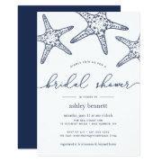 Navy & White Starfish Bridal Shower