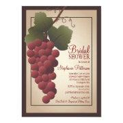Old World Tuscan Grapevine Wine Bridal Shower