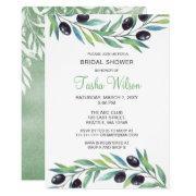 Olive Branch Botanical Bridal Shower