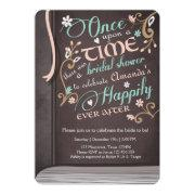 Once Upon A Time Storybook Bridal Shower Pink