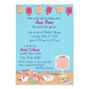 One Sweet Day Bridal Shower Custom Invitation