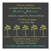 Palm Tree Bridal Shower