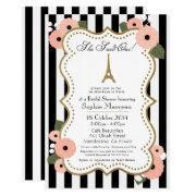 Paris Bridal Shower Invitation